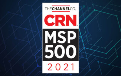 ERGOS Technology Partners Named One of 2021 Tech Elite Solution Providers by CRN®